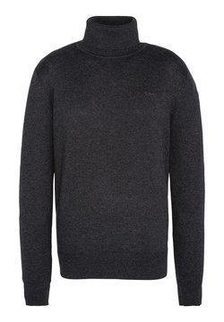 Schott - Strickpullover - heather anthracite
