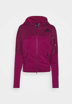 adidas Performance - W ZNE A H C.RDY - Laufjacke - power berry