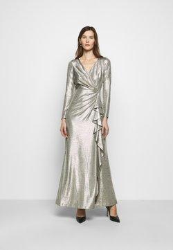 Lauren Ralph Lauren - LONG GOWN - Robe de cocktail - beige/gold