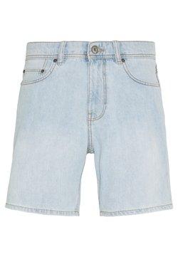 edc by Esprit - Denim-Short aus 100% Baumwolle - Jeansshort - blue bleached