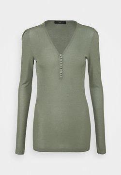 Bruuns Bazaar - KATKA  - Pitkähihainen paita - moss