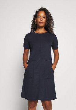 TOM TAILOR - DRESS WITH POCKET - Kjole - sky captain blue