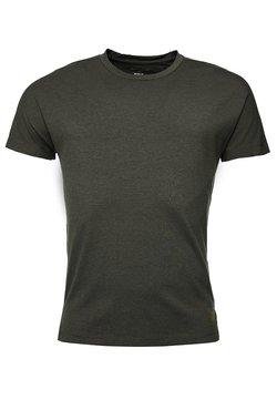 Superdry - FLEX FEEDER - T-Shirt print - army khaki feeder stripe