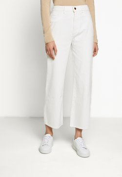 DL1961 - HEPBURN HIGH RISE WIDE LEG - Relaxed fit jeans - eggshell