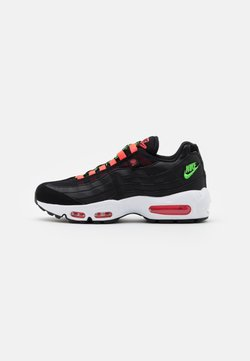 Nike Sportswear - AIR MAX 95 - Sneakers laag - black/green strike/flash crimson/white