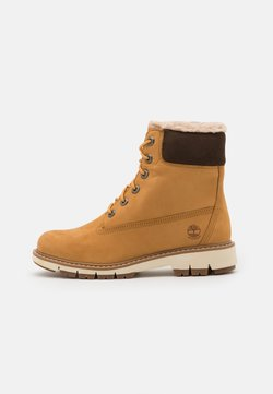 Timberland - LUCIA 6 IN BOOT WP - Schnürstiefelette - wheat