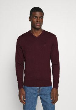 Tommy Hilfiger - Strickpullover - red