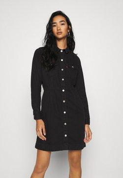 Levi's® - ELLIE DRESS - Denim dress - black book