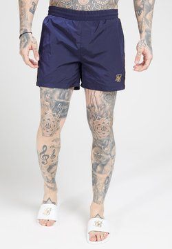 SIKSILK - CRUSHED TAPE - Shorts - navy/gold