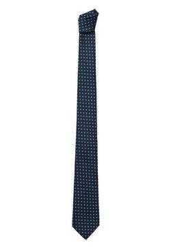 Mango - DOTS - Krawatte - dunkles marineblau