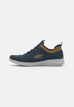 Skechers Sport - ELITE FLEX - Slipper - navy/yellow