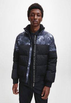 Calvin Klein Jeans - CLOUD PRINT  - Winterjacke - ck black