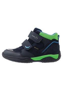 Superfit - STORM - Korte laarzen - blau/grün