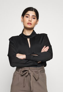 Esprit Collection Petite - STRUCTURED - Blusa - black