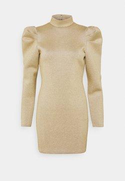 Monki - DIAMOND DRESS - Vestido de tubo - gold-coloured