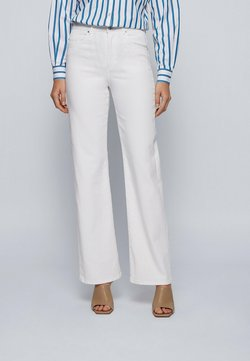 BOSS - Flared jeans - natural