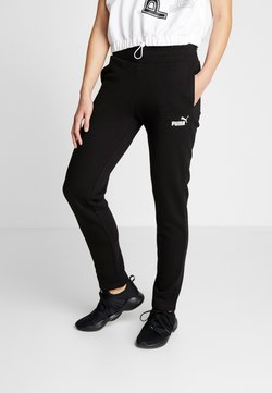 Puma - PANTS - Jogginghose - cotton black