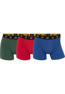 Cristiano Ronaldo CR7 - 3-PACK - Panties - balu/rot/grün
