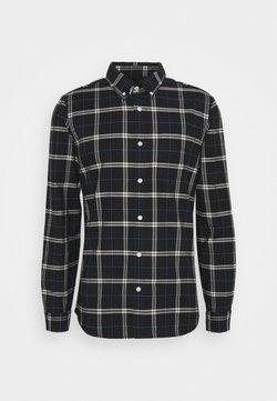 GAP - SLIM OXFORD - Koszula - black