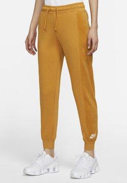 Nike Sportswear - HRTG VELOUR - Jogginghose - chutney/white
