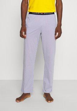 Tommy Hilfiger - PANT PRINT - Bas de pyjama - blue