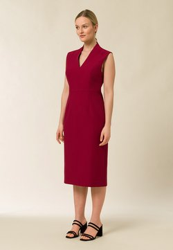 IVY & OAK - HIGH COLLAR DRESS - Vestido de tubo - cassis sorbet