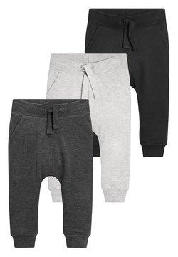 Next - 3 PACK - Jogginghose - black/grey