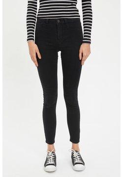 DeFacto - DEFACTO WOMAN SLIM FIT  ANTHRACITE - Slim fit jeans - anthracite