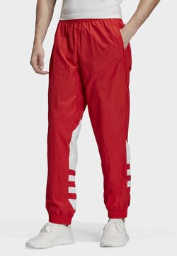 adidas Originals - BIG TREFOIL TRACKSUIT BOTTOMS - Verryttelyhousut - red