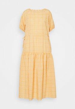 YAS - YASSTURI ANKLE DRESS - Maxiklänning - tan