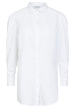 Pieces - PUFFÄRMEL - Skjorta - bright white