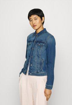 Esprit - Veste en jean - blue medium wash