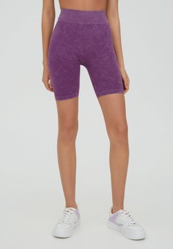 PULL&BEAR - Shorts - purple