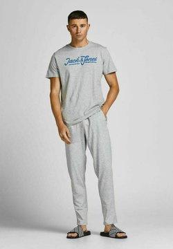 Jack & Jones - SET - Pyjama - light grey melange