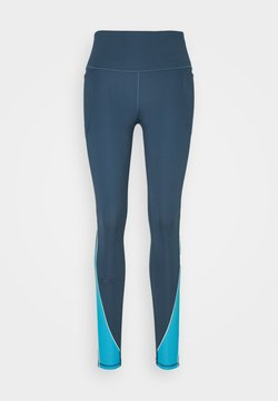 Under Armour - RUSH LEGGING - Tights - mechanic blue