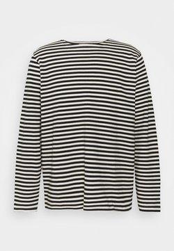 Nudie Jeans - CHARLES - Langarmshirt - offwhite/black