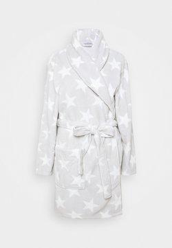 Anna Field - AYLIN BATHROBE - Peignoir - white/grey