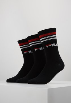 Fila - 3 PACK - Sportsocken - black