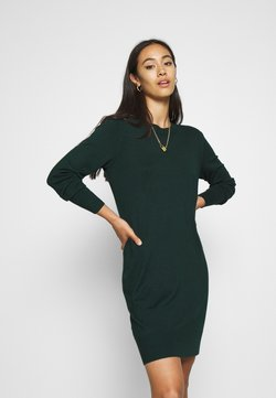 Even&Odd - JUMPER Knit DRESS - Etuikleid - scarab