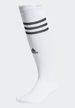 adidas Performance - TECHFIT COMPRESSION OVER-THE-CALF SOCKS - Calcetines de deporte - white/black/black