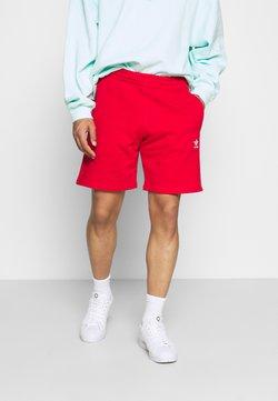 adidas Originals - ESSENTIAL UNISEX - Shorts - red