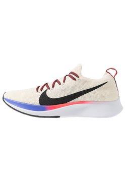 Nike Performance - ZOOM FLY FK - Juoksukenkä/neutraalit - light cream/black/bright crimson