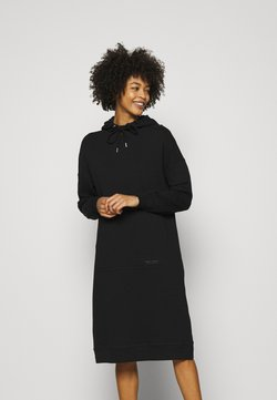 Marc O'Polo - DRESS HOOD - Freizeitkleid - black
