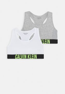 Calvin Klein Underwear - BRALETTE 2 PACK - Brassière - grey