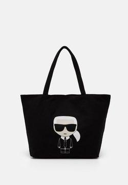 KARL LAGERFELD - IKONIK KARL TOTE - Shopping bag - black