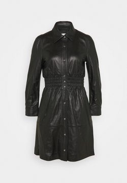 Coach - SMOCKED DRESS - Blousejurk - black