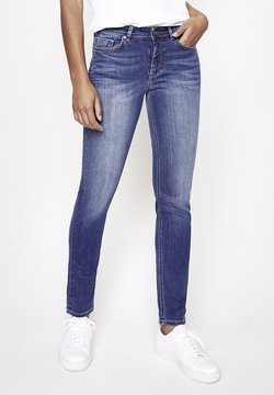 Five Fellas - MAGGY - Jeans Slim Fit - stone blue denim