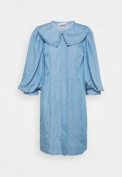 JUST FEMALE - TEXAS DRESS - Vestito estivo - light blue