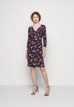 Lauren Ralph Lauren - PRINTED MATTE DRESS - Jerseykleid - lighthouse navy
