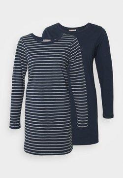 Anna Field - 2 PACK - Nachtwäsche Shirt - dark grey